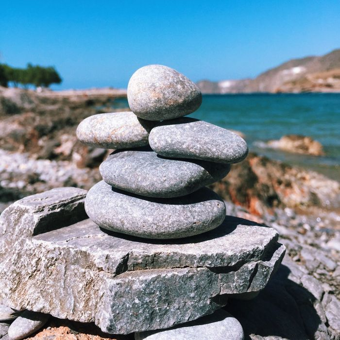 Leaving a bit of Canada in Greece.. Inuksuk Canada Canadian Inukshuk Roots Travel Greece Crete Travel Photography Traveling Adventure Ocean Travelphotography Beautiful Stones Justgoshoot Still Life Outdoors Adventure Awaits Stone Beach Summer Sun Water Happy
