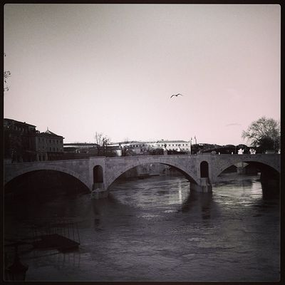 Tiber Rome Old Fashioned iphoneography iphone4s walking home