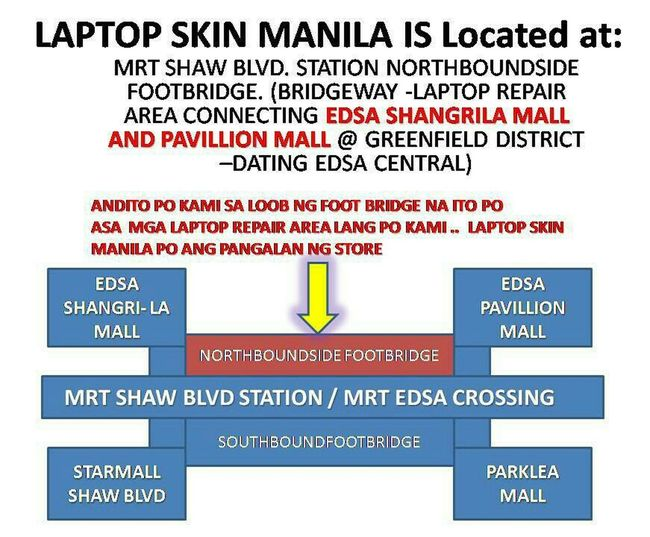 Location map of Laptopskinmanila ..skins for Laptop, Mobilephone, game console and other gadets & devices.. Skins&decals Decalstore Gadgetaccessoties Gadgetskins Laptopskin Cellphoneskin