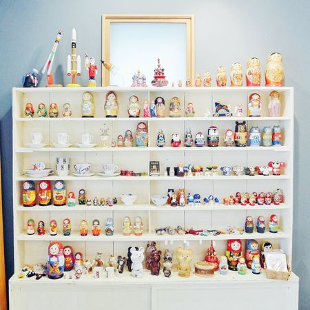EyeEm Best Shots Matryoshka Shelf Wood Wooden Russia Russian Doll Dolls Toy Toys Goods Collection Shop