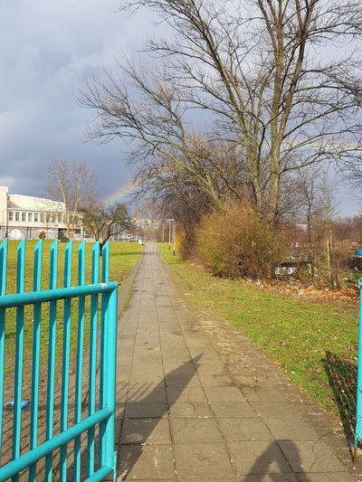 Rainbow Rainy Days School No Filter No Filter, No Edit, Just Photography Natural Nature Cold Sky Grass