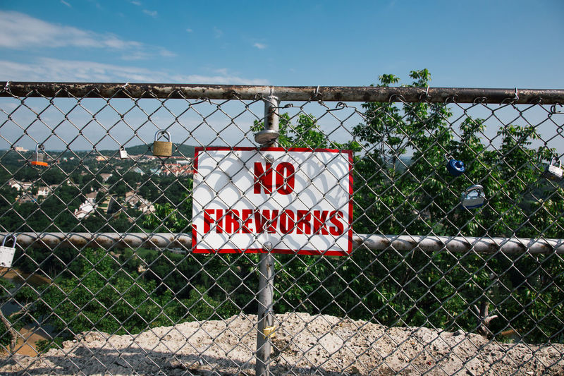 No fireworks sign Sign Signs & More Signs Signs Branson Branson Missouri Ozarks Fireworks No Fireworks