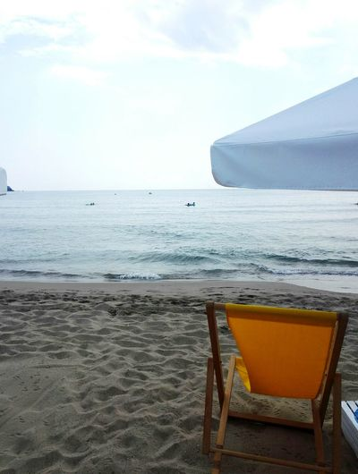 Beach time Water Sea Beach Sand Relaxation Summer Swimming Chair Wave Outdoor Chair Sand Dune Deck Chair Sun