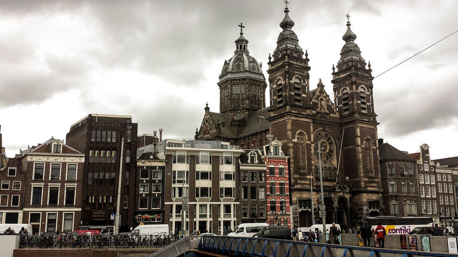 Cloudy Amsterdam Amsterdam Architecture Built Structure City Day No People Outdoors Travel Destinations