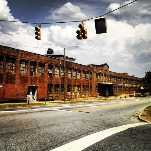 Old WhitesFurniture building in Mebañe NC Historic besideourshop lovethisbuilding