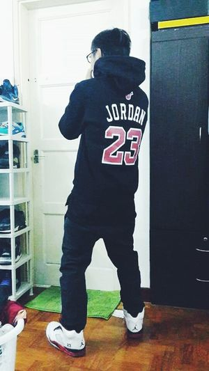 outfit of today Jordan FireRed 5s Jordan23 23 JaysOnMyFeet Ootd DOPE First Eyeem Photo