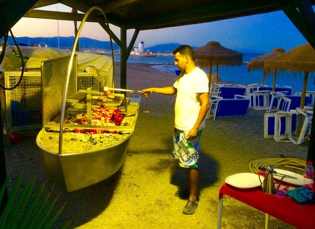 Duquesa SPAIN BBQ Beach Sea Feel The Journey