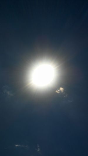 A Dose of Virtual Vitamin D... Sun Moon Solar Eclipse Space Beauty In Nature Astronomy Sky Natural Phenomenon Outdoors Nature Scenics No People Low Angle View Illuminated Beauty Day Sunlight Sunny Sunny Day Sun_collection Sunshine ☀ Sunshines Sunshine Makes Everything Better Refraction Luminosity