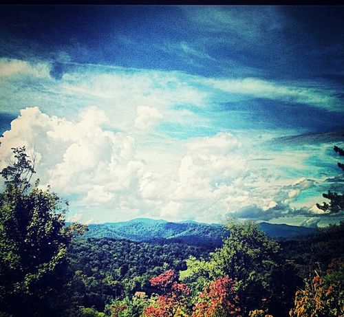 Fall is in the air! Landscape GSMNP Mountains First Eyeem Photo