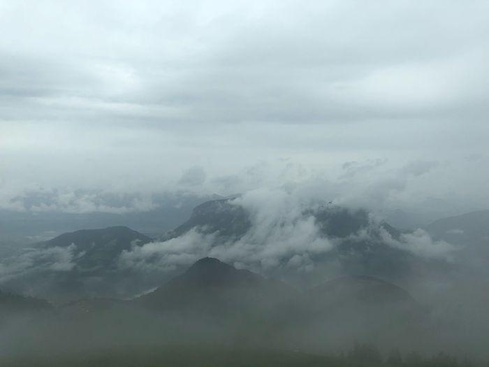 Clouds Alpen