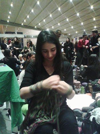 Knitting Knit Orgu Atkıörme