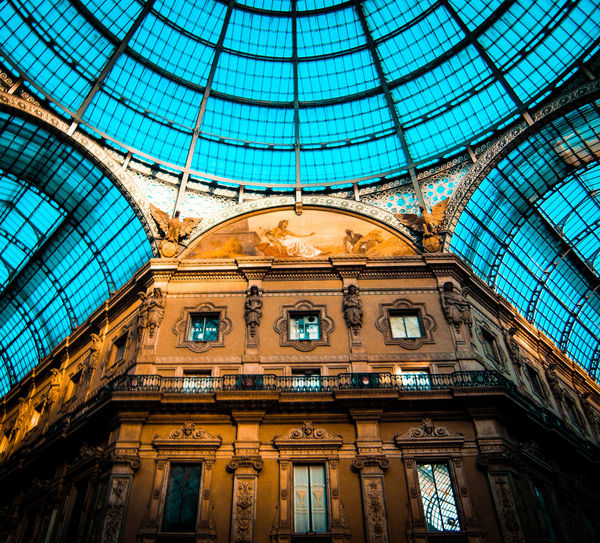 Take the risk or lose the chance Dome Illuminated Ceiling Ornate Architecture Built Structure Architectural Design Skylight Cupola Museum Art Museum Architecture And Art Architectural Detail Historic Architectural Feature