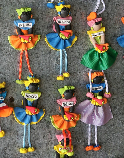 Art And Craft Colorful Cultures Figurine  Human Representation Island Art Multi Colored People