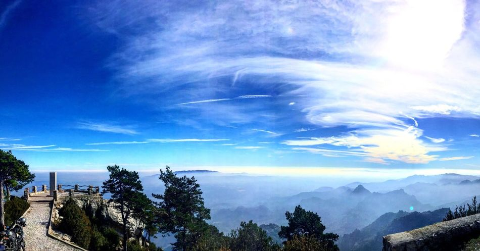 Here Belongs To Me The Great Outdoors - 2016 EyeEm Awards Road Trip Travel Around Europe 2015 Roquetes Tarragona Tarragona, España Mountains Mountains And Sky Mountain View On The Top Mont Caró Parc Natural Dels Ports