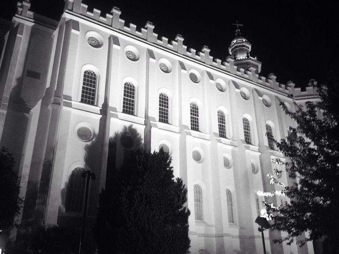 Lights Black & White Lds Temples Pretty