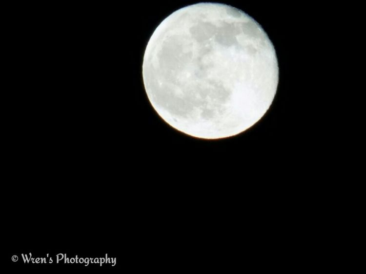 The moon last night Moon Beautiful Space Dark Detail Focus Cool Big Moon Bright Moon
