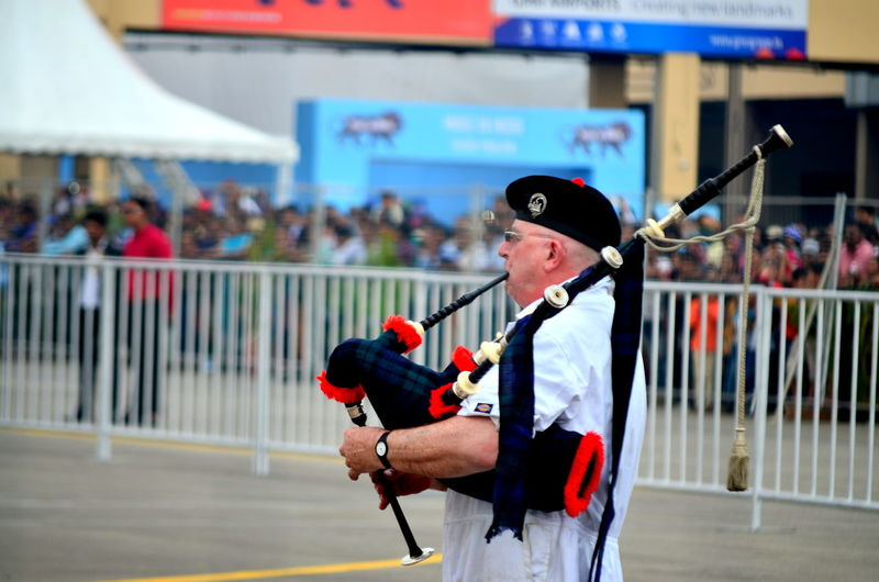 Learn & Shoot: Balancing Elements Playing Playing Bagpiper Bagpiper Nice Music EyeEm Best Shots Aviation Festival