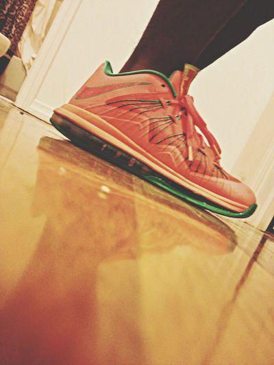 watermelön Sneakers Lebron9