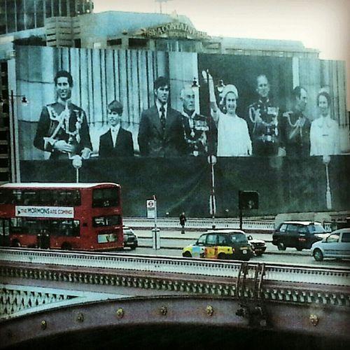 London River Thames Royal Family Blackfriars