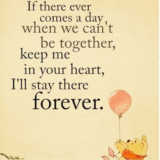 Gosh Winnie the Pooh is just the best ❤