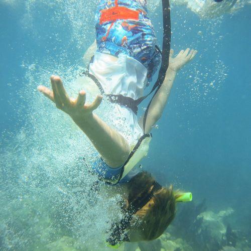 Break The Mold Underwater Swimming UnderSea Sea Leisure Activity Adventure Nature Outdoors Snorkeling Childhood