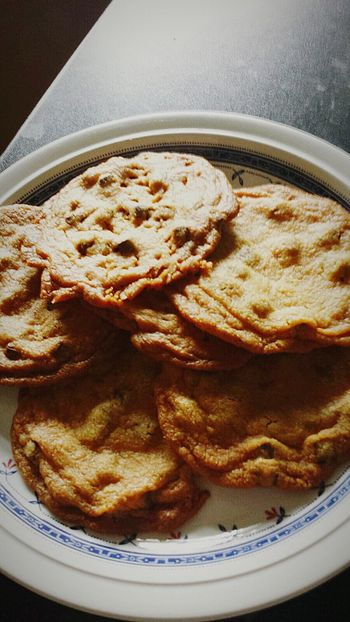 Cookies Food Baked Home Homemade Food Home Cooking Fresh Baked Chocolate Choc Chip