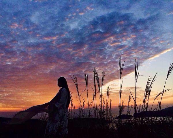 東極島 舟山 浙江 Photography 東極島,看日出時撿了一個模特。