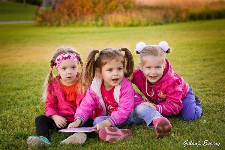 Дети в парке