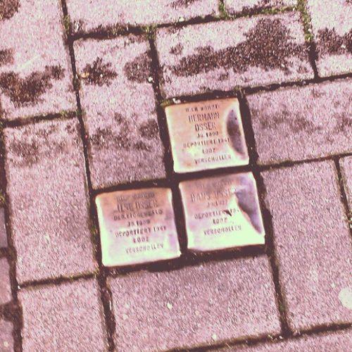 Wider dem Vergessen / Never forgotten! Stolpersteine next to my hotel. #Reichspogromnacht #NeverAgain Reichspogromnacht Neveragain