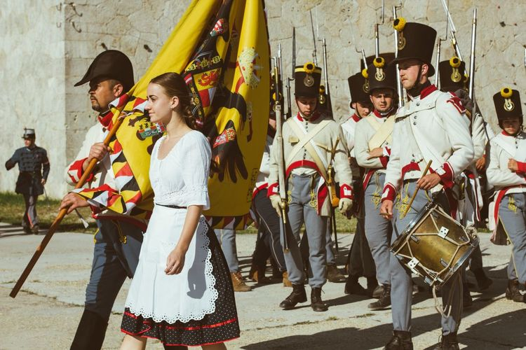 Hussar Tradition Reenactment 1848 Revolution War Of Independence EyeEm Selects Celebration Paint The Town Yellow