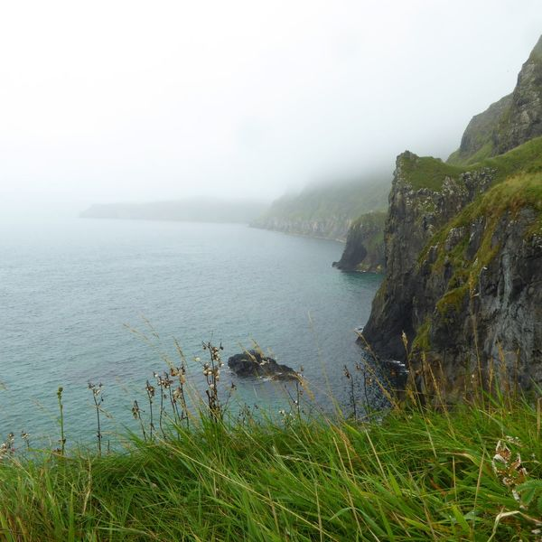 """""""The voice of the sea speaks to the soul."""" Fog Nature Water Landscape Photographer Ireland Beauty Irish Landscape Cliffside Carrick-a-Rede Rope Bridge Northern Ireland Photography Photooftheday Sony A6000 Stunning View Capture Traveling Beauty In Nature Outdoors Wanderlust Sea Blue EyeEmNewHere"""