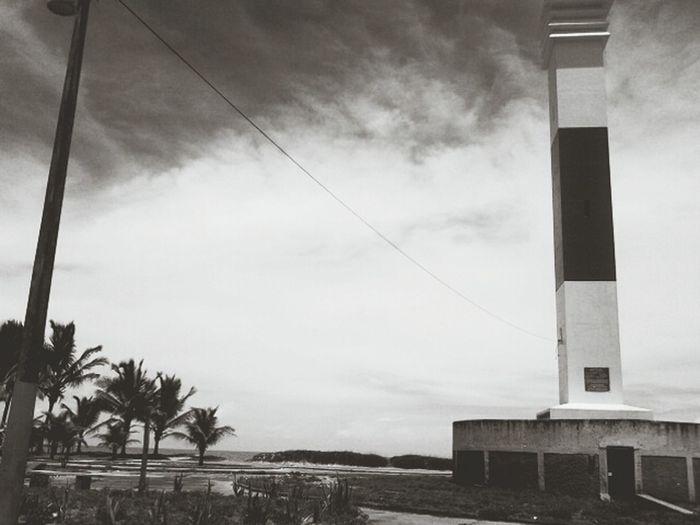 Farol Alcobaça - Ba Clouds And Sky