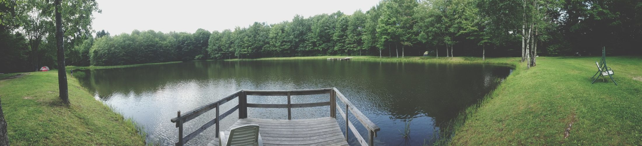 Camping Pond Nature