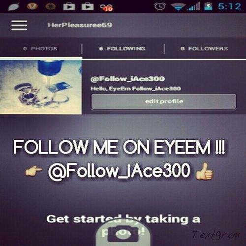 REMEMBRE TO FOLLOW MY OTHER PAGE @Follow_iAce300