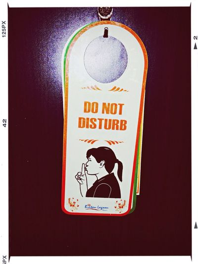 Do not disturb Signs Hotel Hotel Room ASIA