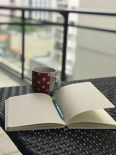 Empty pages in life Pen Empty Pages Imaginations Relaxing Writing Journal Close-up Day