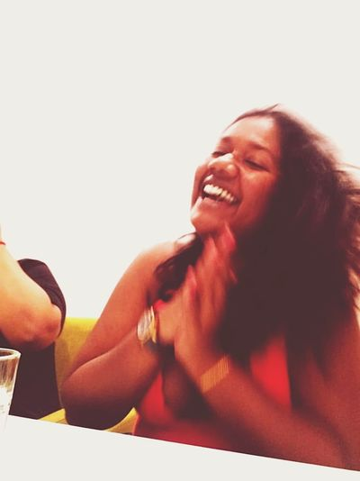 Your laugh is contagious. Cheerfulness Lady Contagious  Summer Fun Enjoyment