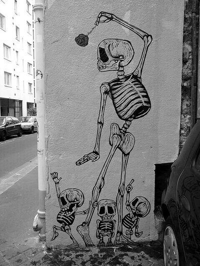 👻 Skeleton Graffiti Drawing Art ArtWork Streetphotography Street Photography Street Streetphoto_bw Streetart Blackandwhite Photography