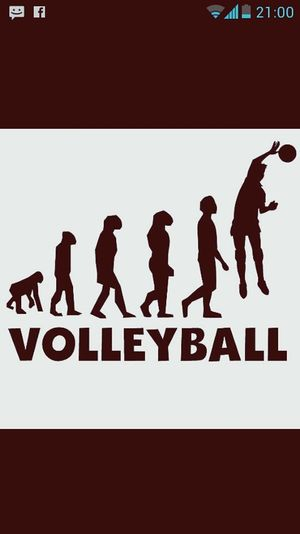 Playing Volleyball Love ♥ Life<3