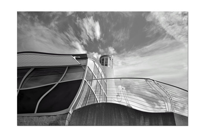 Jack London Square Observation Deck & Tower 5 Oakland, Ca. Embarcadero Cove Marina Geometric Patterns Pinched Geometric Architecture Pattern Pieces Black And White Black & White Black And White Collection  Black And White Photography Showcase April