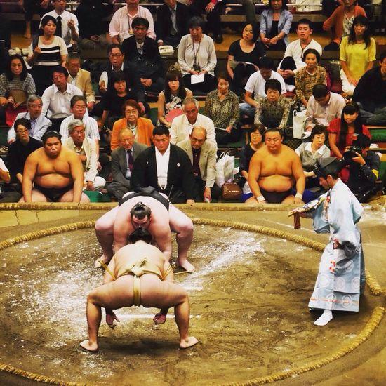 Sumo Sumowrestler Sumo Fight