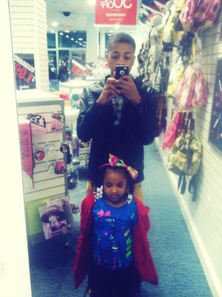 Taking Her Shopping