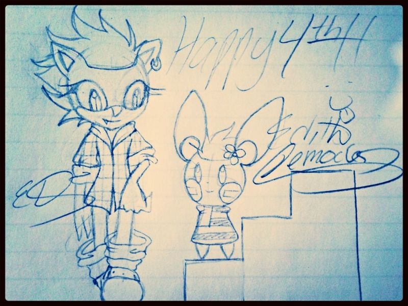 Haha I like fireworks :9 Fourth Of July Sonic The Hedgehog Pokémon Art