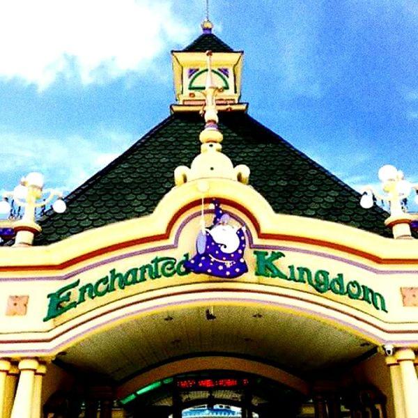 Enchanted Kingdom Amusement park.. PhonePhotography Enjoying Life Hello World Hanging Out