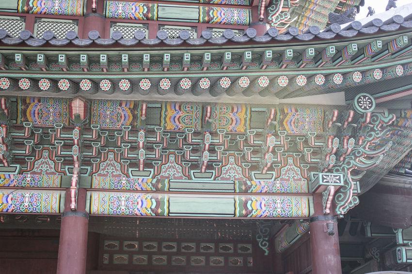 Korea Korea Traditional Architecture Seoul South Korea Close Up Gyeongbokgung Palace, Seoul Gyeongbokgung Palace, Seoul Korea Korea Tradition
