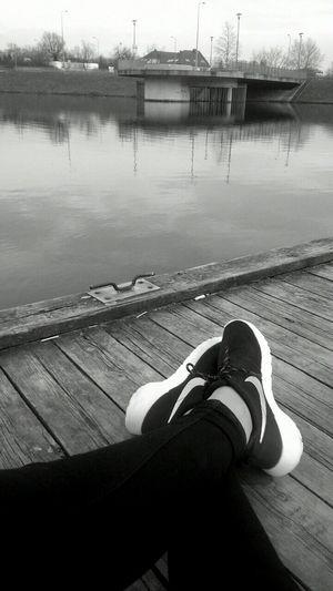 Rosherun Shoes Love Run Nike✔ NikeRun Water Perfect Sports Girl 💪🏃