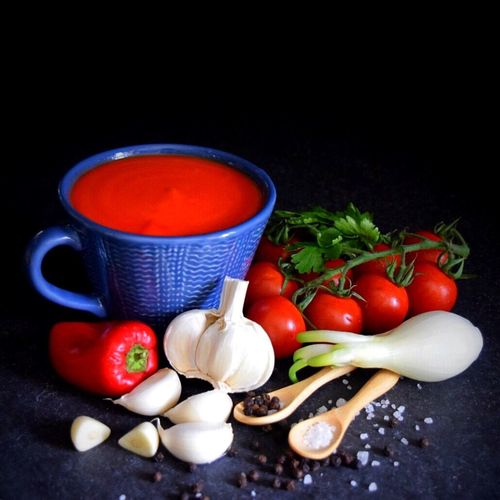 Ingredients Soup Of The Day Tomato Soup Foodphotography Rawingredients On The Table Food Homecooking Homecooked Healthy Eating Healthy Food Vitamins Superfood Vitality Superfoodsuperboost Serving Size Ready-to-eat Food And Drink Food Photography Foodie