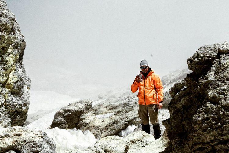 ⛰5671m Mountain Moutaineering Peak Clmbing Snow Volcano