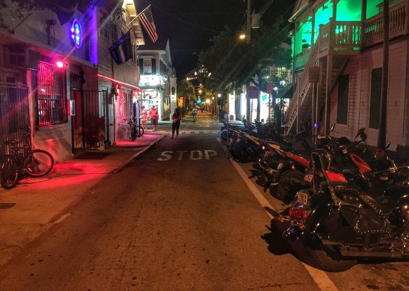Key west party night !!! Beautiful Peace Hanging Out Outside Photography Goodday Eye4photography  Cool Edit Taking Photos Vacation Time Trip Interesting Getting Inspired Enjoying Life Outdoor Photography Check This Out Light And Shadow Turn Your Lights Down Low Motorcycles Bikes