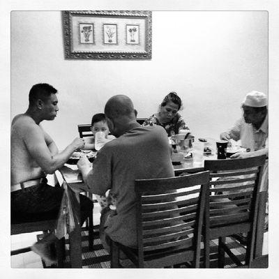 Late dinner serve... Mfarokomar Family